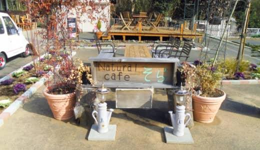 吉見「Naturalcafe(ナチュラルカフェ)そら」で子連れランチ