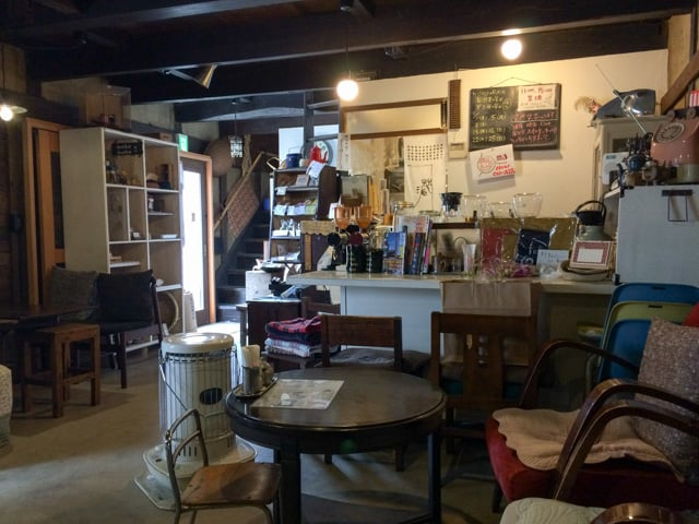 本庄カフェにのくら客席