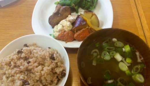小川「ベリカフェ」で有機野菜バイキング