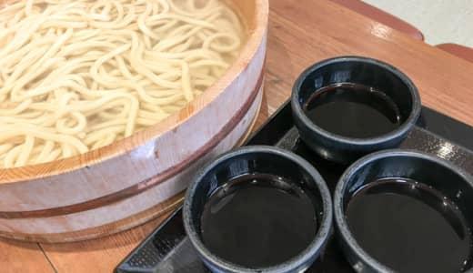 丸亀製麺の家族うどん(6玉分)特大桶の超大盛りに挑戦してみた