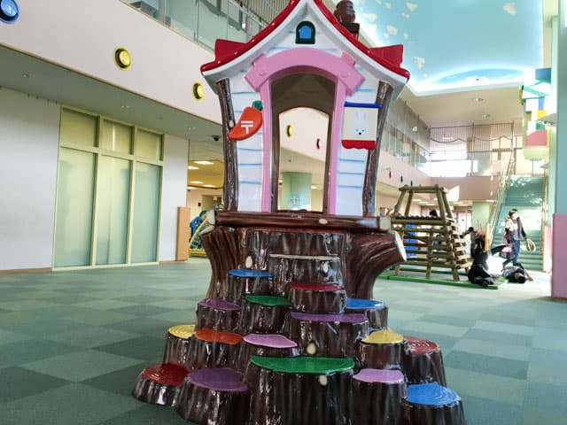 上尾市児童館こどもの城の遊具