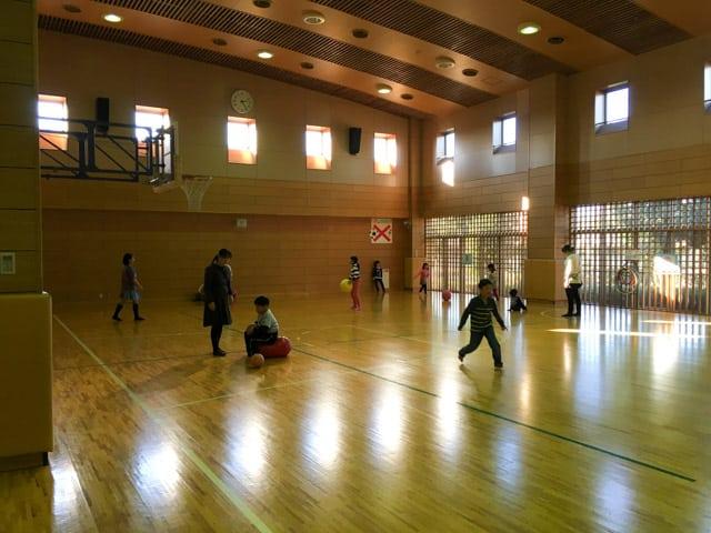 上尾市児童館こどもの城の体育館