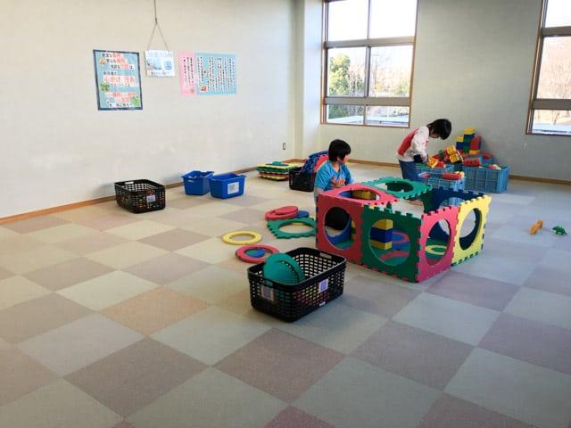 上尾市児童館こどもの城2階遊戯室