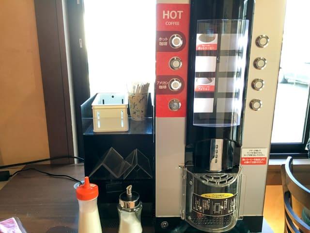 パーネデリシアくまがやイートインコーヒーマシン