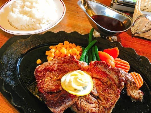 熊谷・レストラン高原10ドルステーキセット