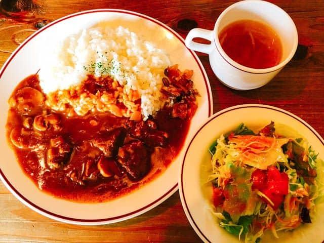 熊谷・レストラン高原ビーフカレー