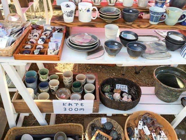 【妻沼手づくり市2016】陶器のお店