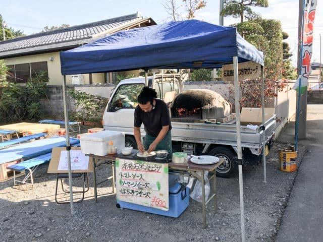 【妻沼手づくり市2016】石窯焼きピザ