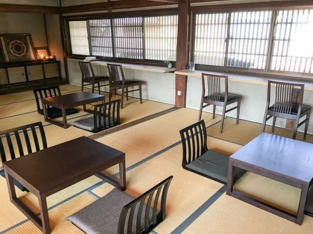 【妻沼手づくり市2016】さわた大福茶屋2階座敷