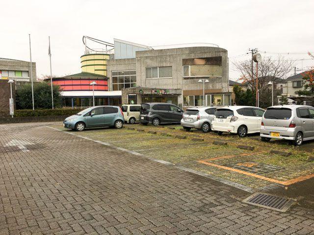 上尾市アッピーランドの駐車場