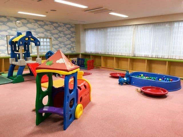 上尾市アッピーランドの幼児室の中