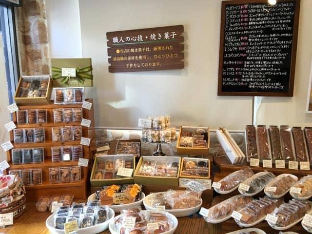 ル コント ブルゥ箱田本店の焼き菓子