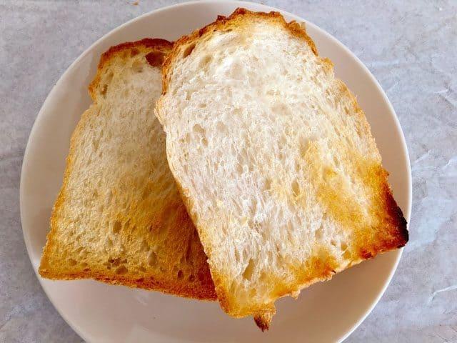 上尾・パン屋パリゼットのパンドミのトースト