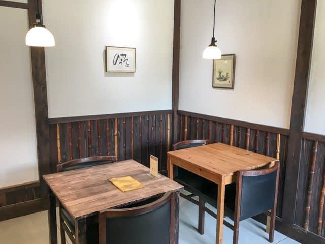 熊谷・のうカフェテーブル席