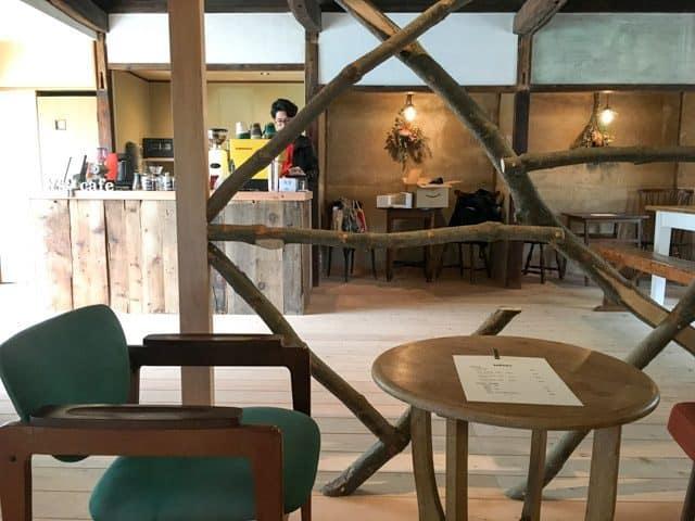 熊谷・妻沼ワイズカフェの店内
