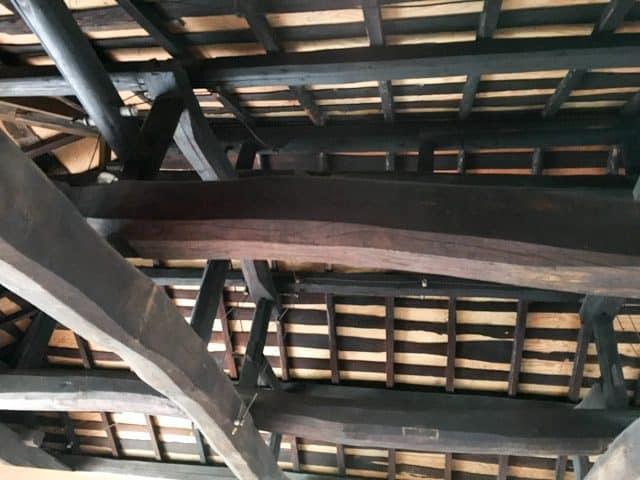 熊谷・妻沼ワイズカフェの天井