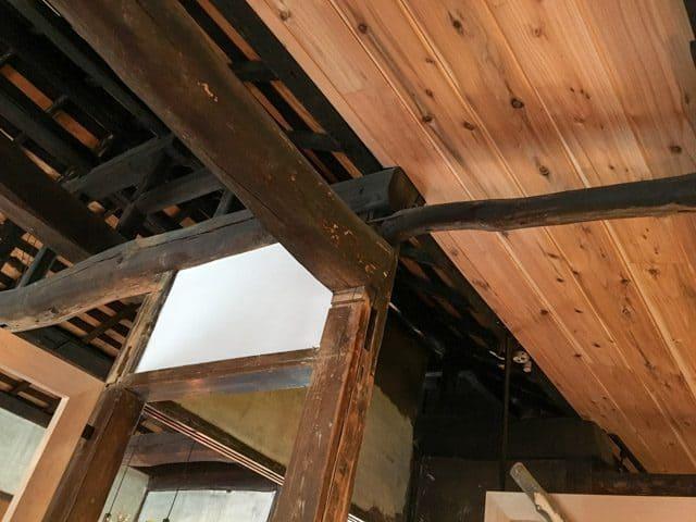 熊谷・妻沼ワイズカフェの新しい天井