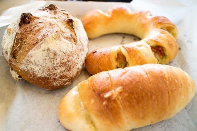 ベーカリーズキッチンオハナ道の駅はなぞの購入したパン