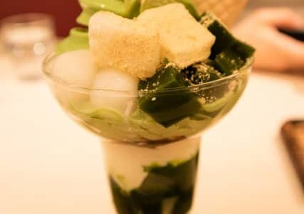 「京はやしや そごう大宮店」元祖抹茶パフェのお店で和スイーツを堪能