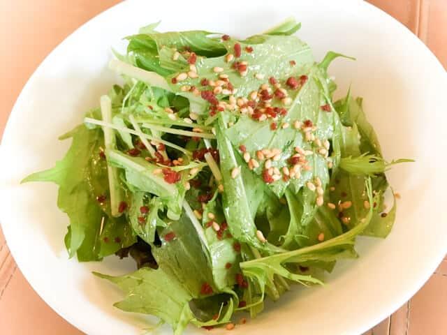 行田・HANIWAのランチサラダ