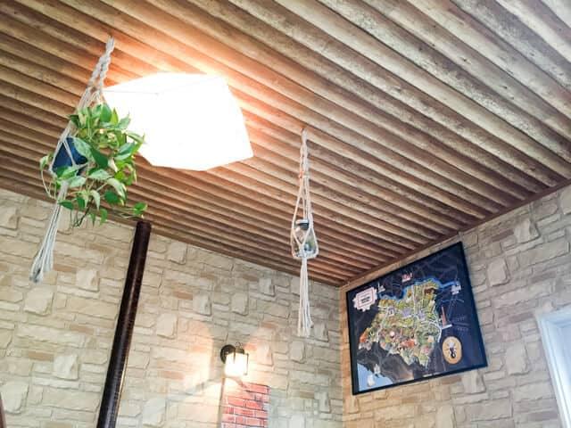 行田・HANIWAの店内天井