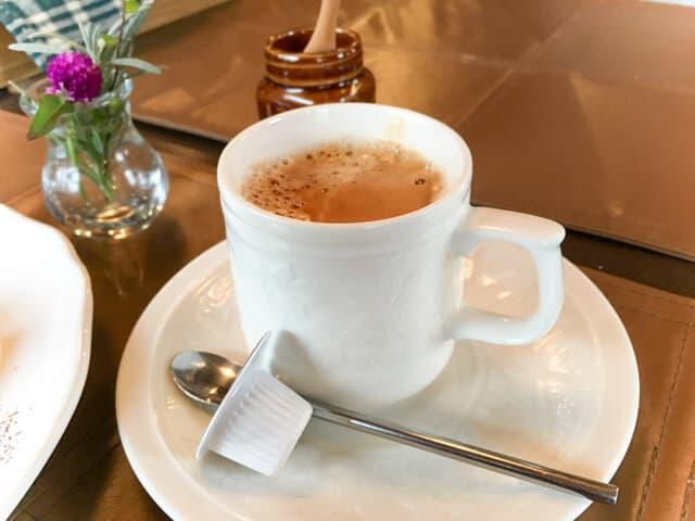 行田・HANIWAランチのコーヒー