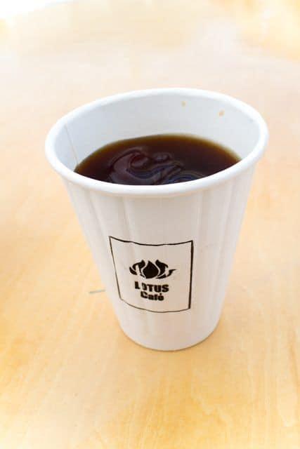 コーヒーと日常2017「ロータスカフェ」のコーヒー