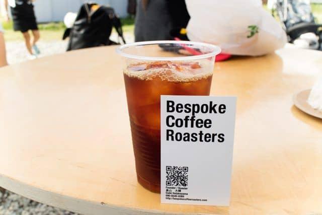 コーヒーと日常2017「Bespoke Coffee Roasters」のアイスコーヒー