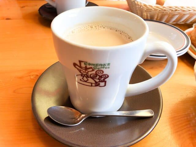 熊谷 コメダ珈琲たっぷりミルクコーヒー