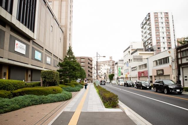 浦和 市役所通り