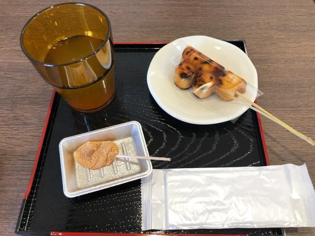 熊谷和菓子店 かんだ和彩 みたらし串団子