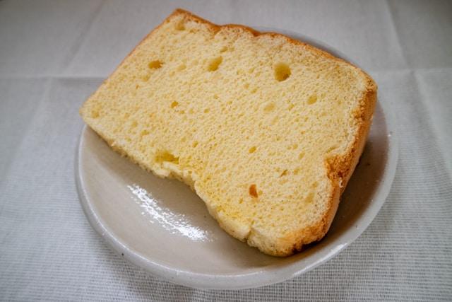 深谷・菊寿堂のシフォンケーキ