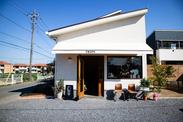 熊谷・COFFEE TRIPS(コーヒートリップス)の外観