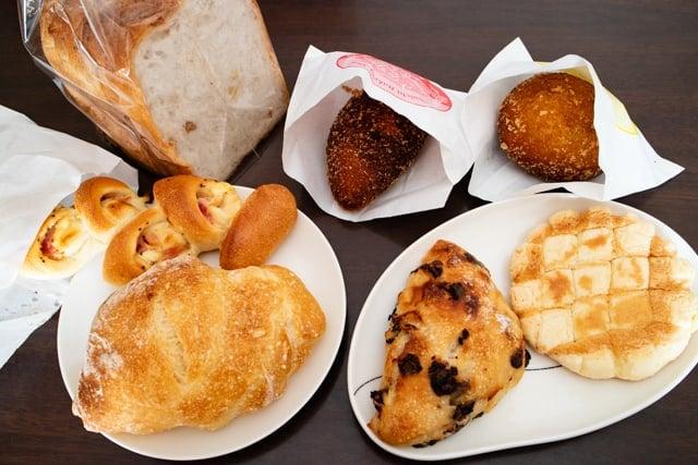 パーネデリシアくまがや店のパン