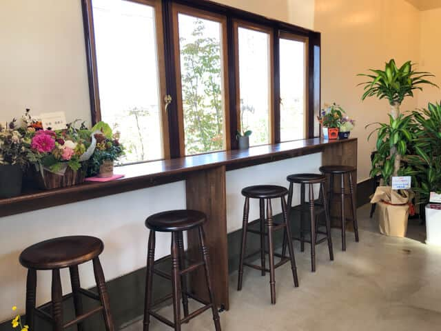 熊谷・COFFEE TRIPS(コーヒートリップス)のカウンター席
