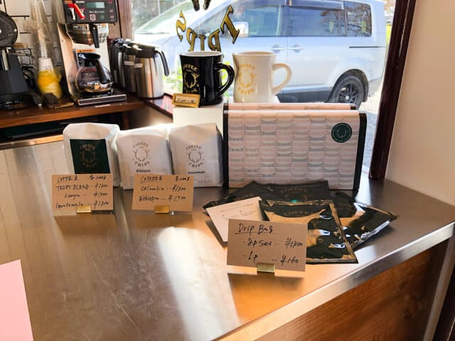 熊谷 COFFEE TRIPSコーヒートリップス 物販