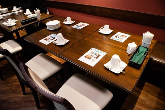ルヴァン紅茶会テーブル1