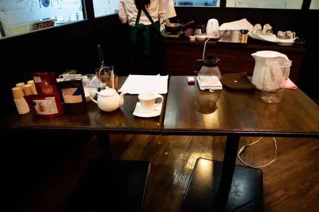 ルヴァン紅茶会テーブル2
