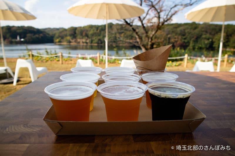 ビール飲み比べセット8種類と湖