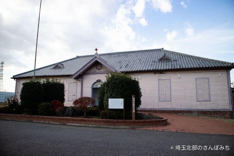旧煉瓦製造施設旧事務所外観