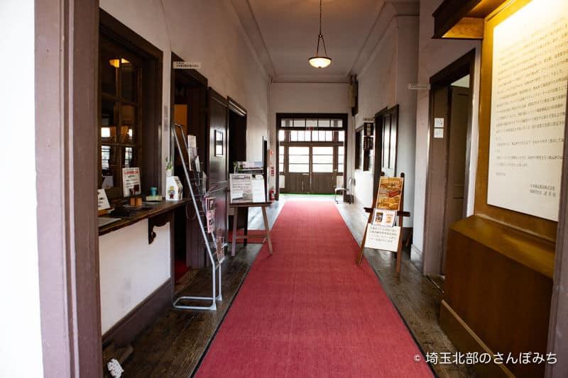 旧煉瓦製造施設旧事務所入口