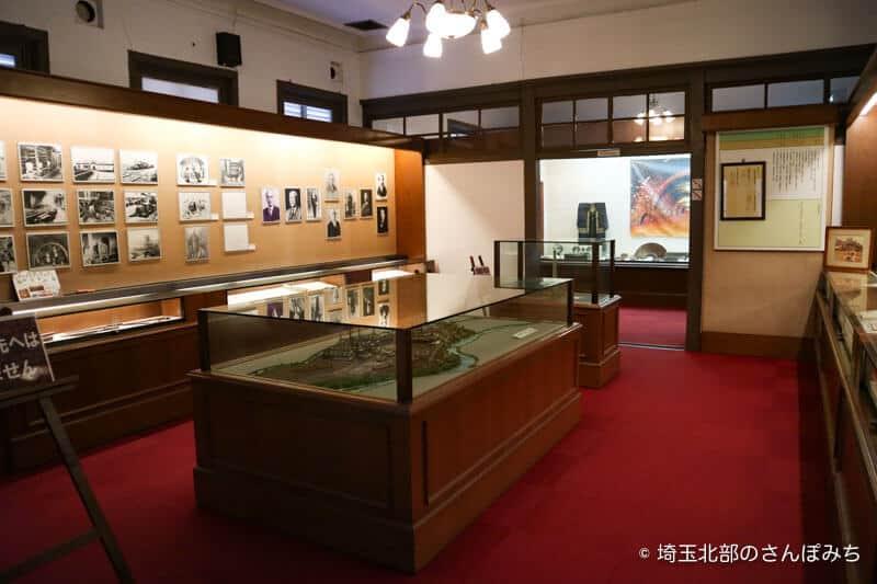 旧煉瓦製造施設旧事務所展示室