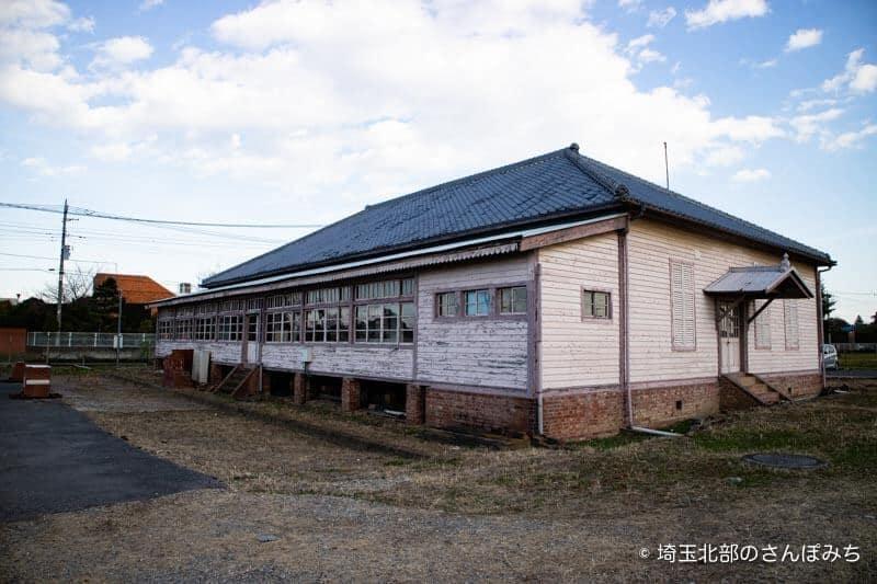 旧煉瓦製造施設旧事務所裏