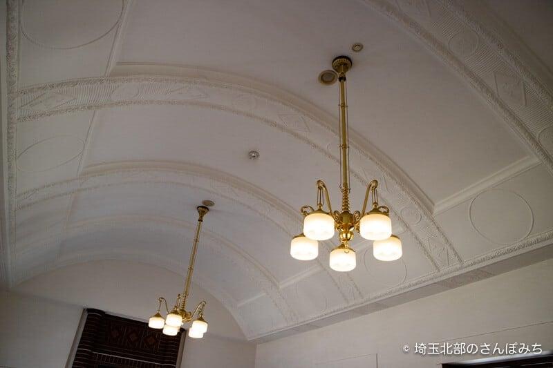 深谷誠之堂内部天井