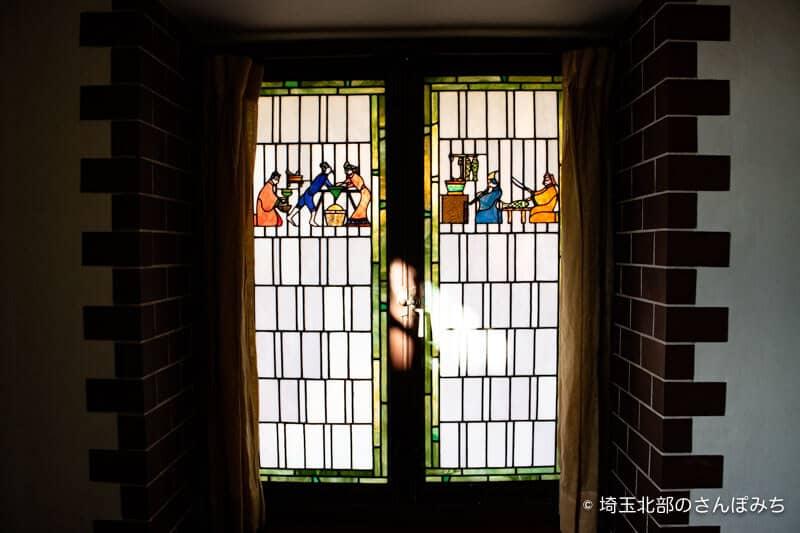 深谷誠之堂ステンドグラス2