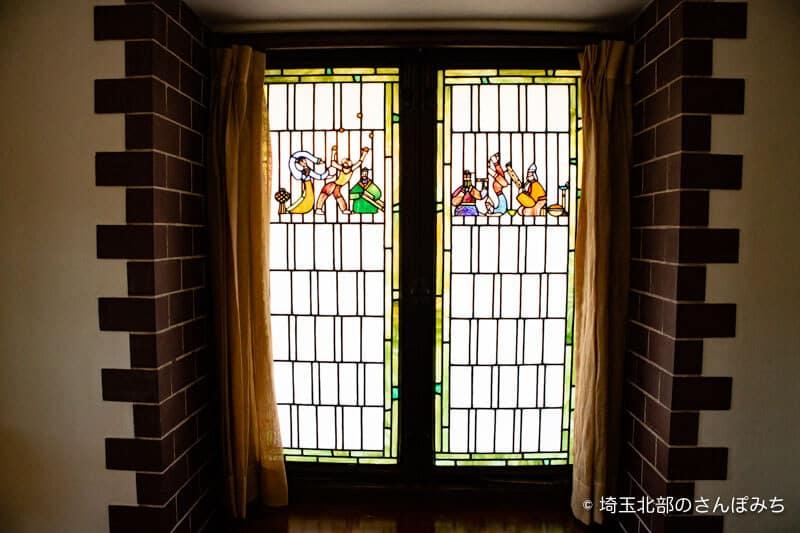 深谷誠之堂ステンドグラス3