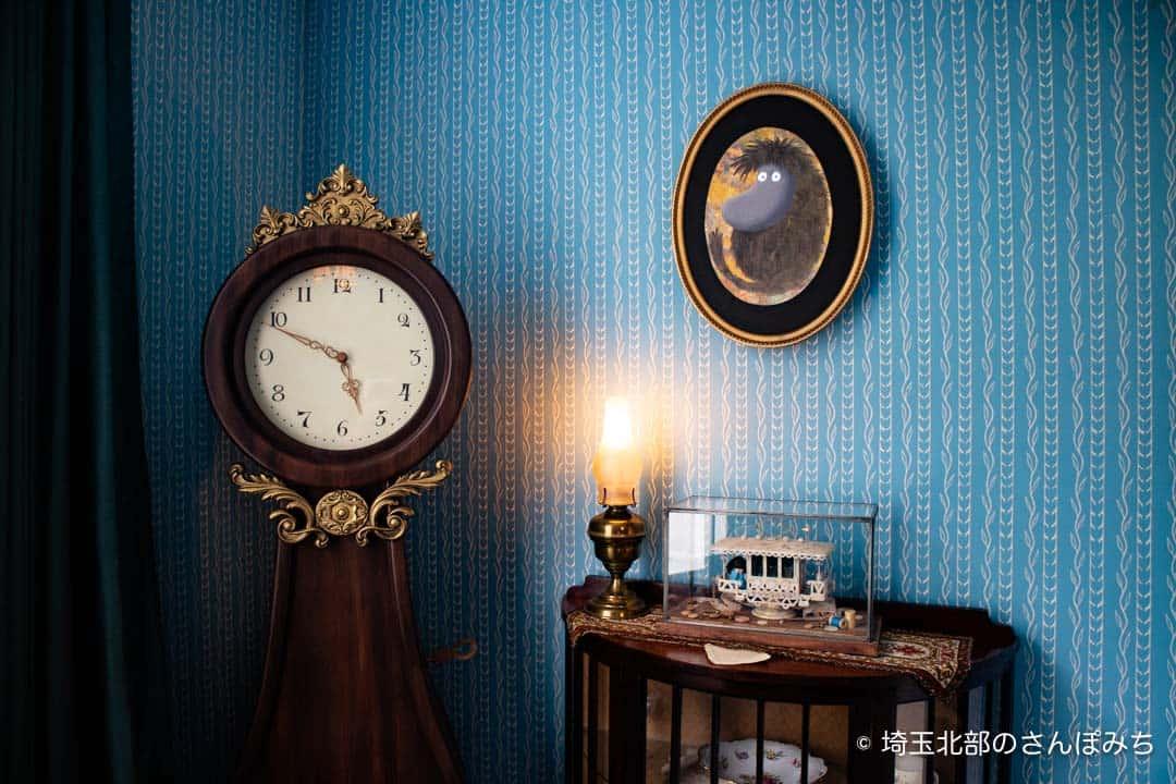 ムーミン屋敷ムーミンパパの時計