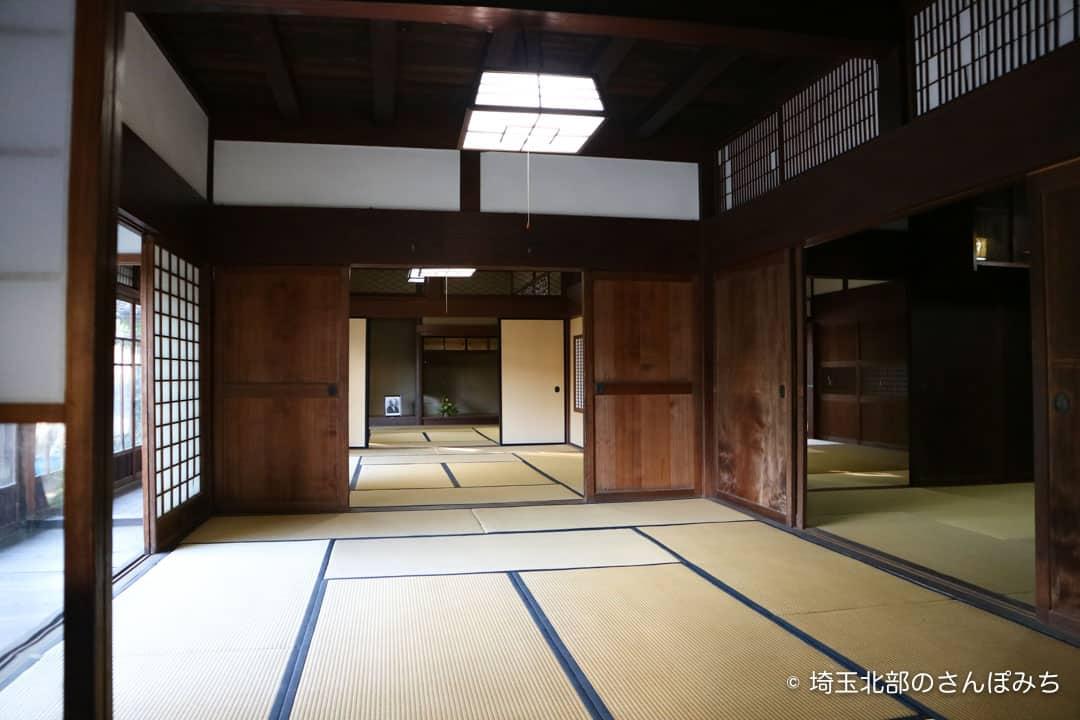渋沢栄一中の家座敷