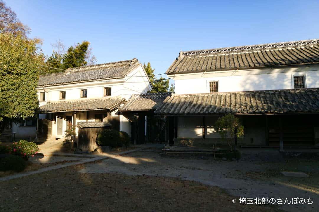 渋沢栄一中の家土蔵
