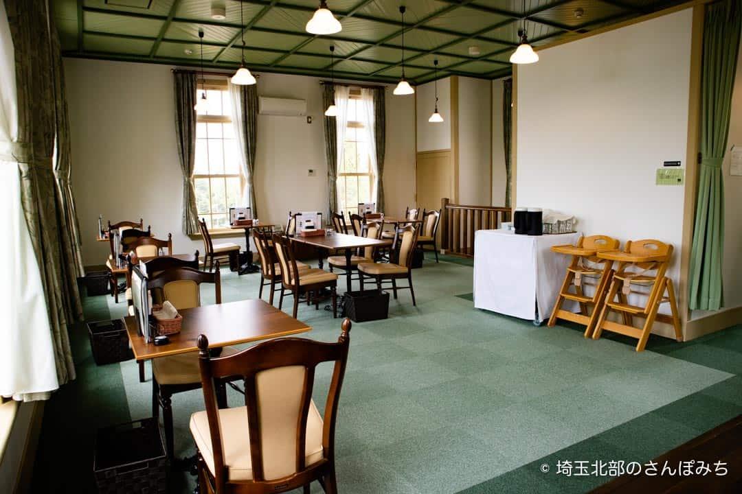 行田ヴェールカフェ2階客席